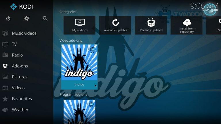 Kodi Indigo Tool by tvaddons