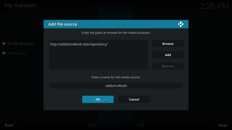 addons4kodi source on kodi