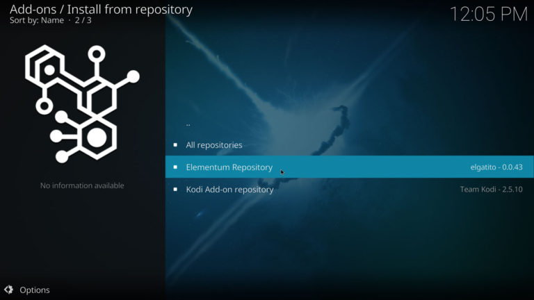 elementum repository
