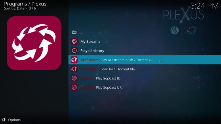Live Sports on Kodi 18 2 with Plexus (AceStream/SopCast) April 2019