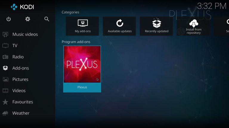 Plexus Kodi Addon