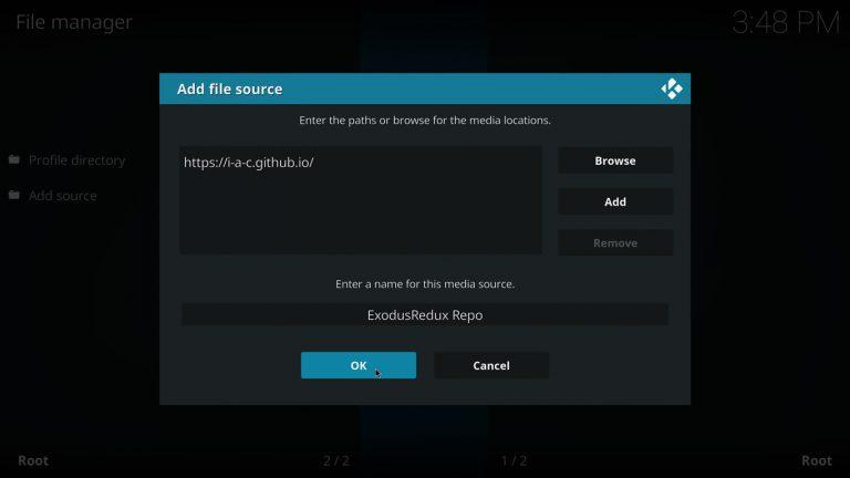 How to install Exodus Redux on Kodi 18 Leia [w/screenshots