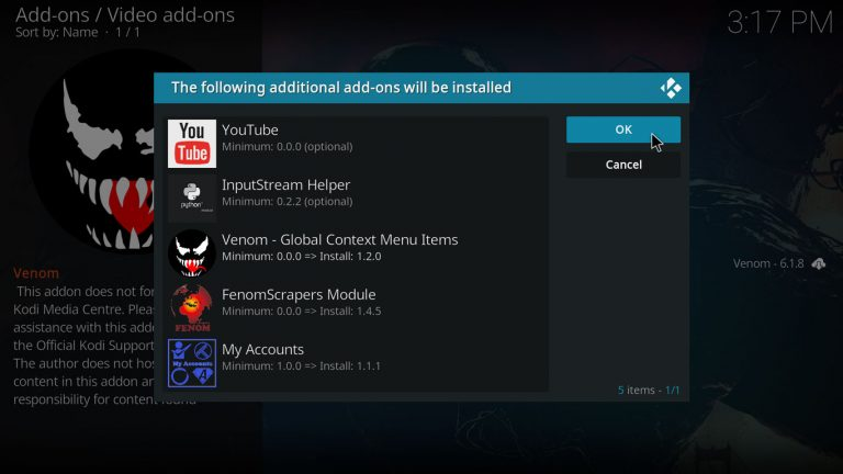 How to install Venom add-on on Kodi 18 Leia | How to Media