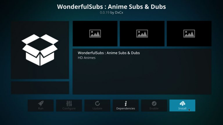 install wonderfulsubs kodi add-on