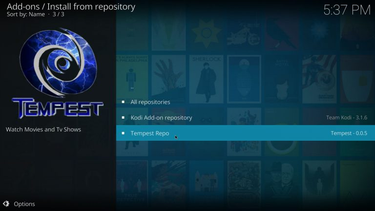 Tempest repository