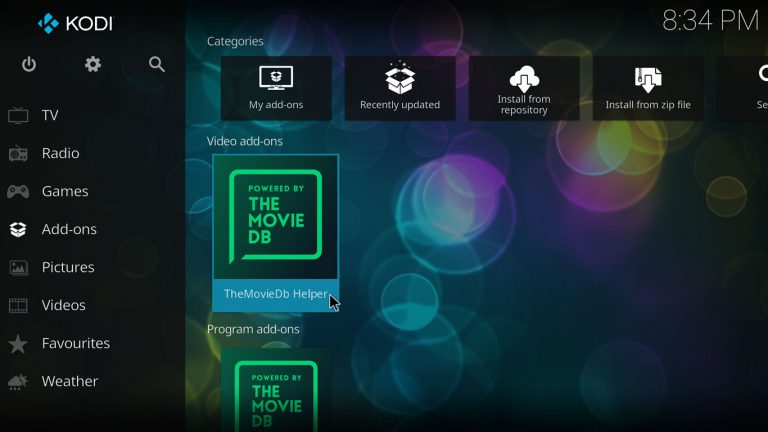 TheMovieDb Helper Kodi add-on