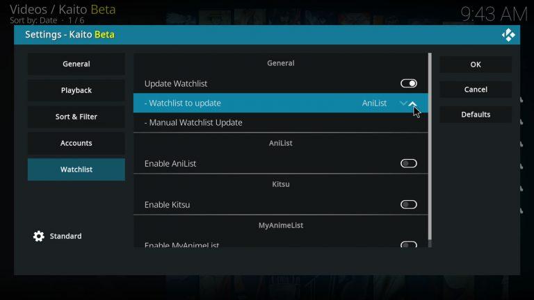 enable watchlist update
